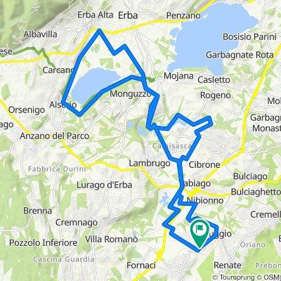 Da Via Monte Grappa 1, Veduggio Con Colzano a Via Monte Grappa 22, Veduggio Con Colzano