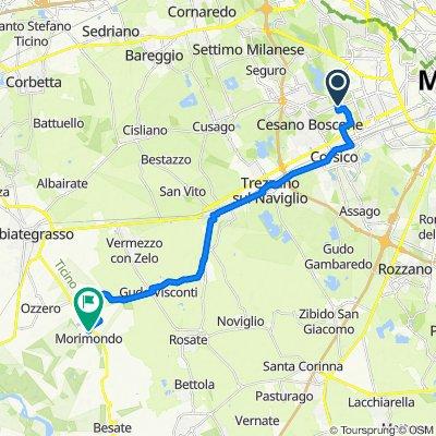 Da Bisceglie M1, Milano a Via Giacomo Matteotti 1, Morimondo