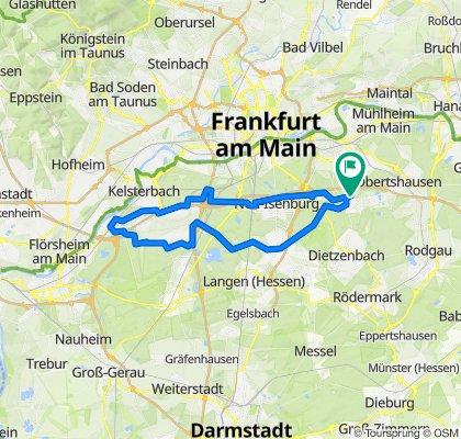 Rund um den Flughafen Frankfurt