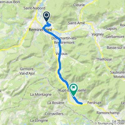 Visite rapide en Rupt-sur-Moselle