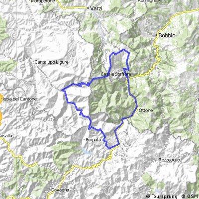 Ponte/Case Ronamo/Carrega L./Capanne Cosola /Brallo/Ponte