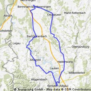 Benningen-Altusried-KE-Stielings-Böhen-Benningen