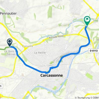 Easy ride in Marseillette