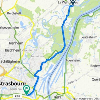 Easy ride in Strasbourg