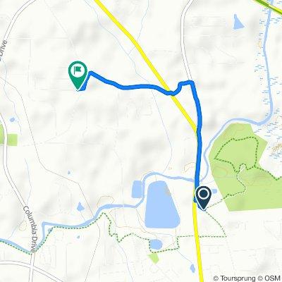 Restful route in Carrollton
