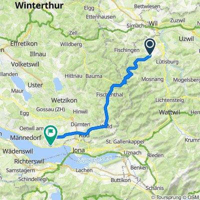 S02 Kirchberg - Uerikon - xxx/0km, ETA 16:00