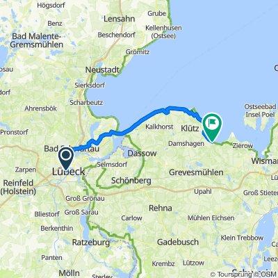 Tag 1 Lübeck - Ostseequelle