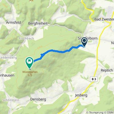 Steady ride in Jesberg