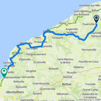 3 neu - Cany -- Cauville-sur-mer 63 km