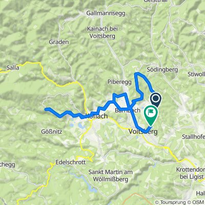 Moderate route in Voitsberg