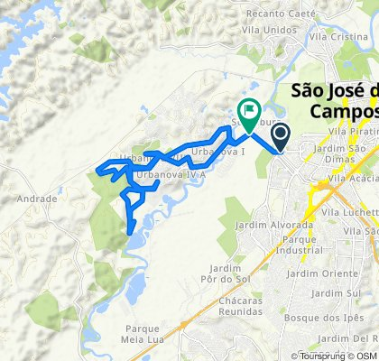 Relaxed route in São José dos Campos