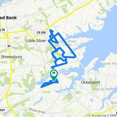 Easy ride in Oceanport