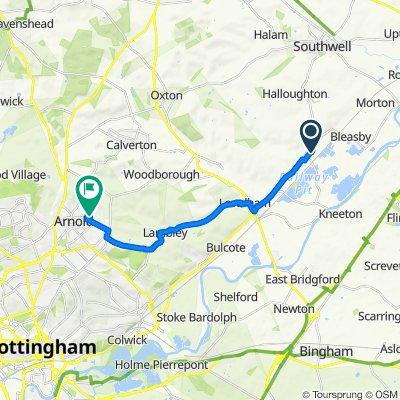 Nottingham, Thurgarton to Hawthorn Crescent 29, Arnold