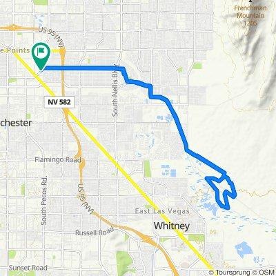East Saint Louis Avenue 38, Las Vegas to East Saint Louis Avenue 1, Las Vegas