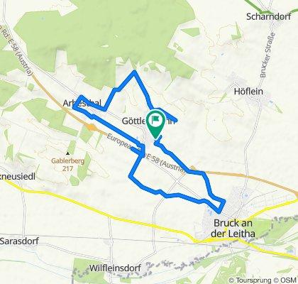 Buchenweg 21, Göttlesbrunn Rundtour