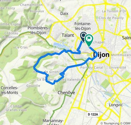 De Avenue Victor Hugo 89, Dijon à Avenue Victor Hugo 20, Dijon