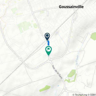 Relaxed route in Goussainville
