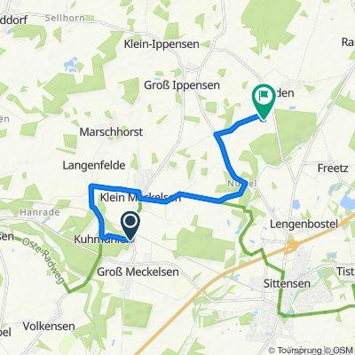 Moderate route in Vierden
