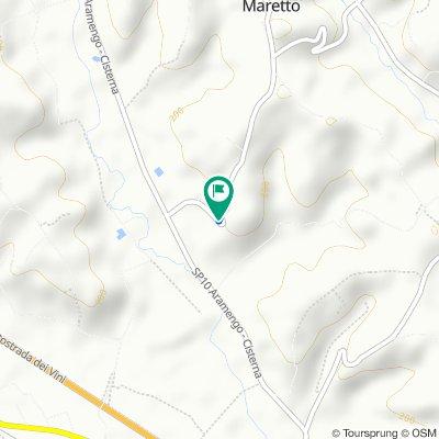 Restful route in Maretto