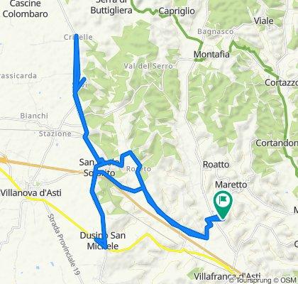 Steady ride in Maretto