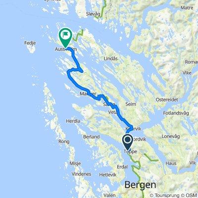 Route von Nedre Slettestølen 34