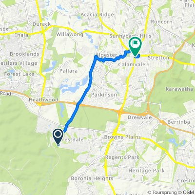 Forestdale to Sunnybank Hills