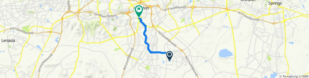 Ulondolozo Street 59, Vosloorus to Voortrekker Road 83, Alberton