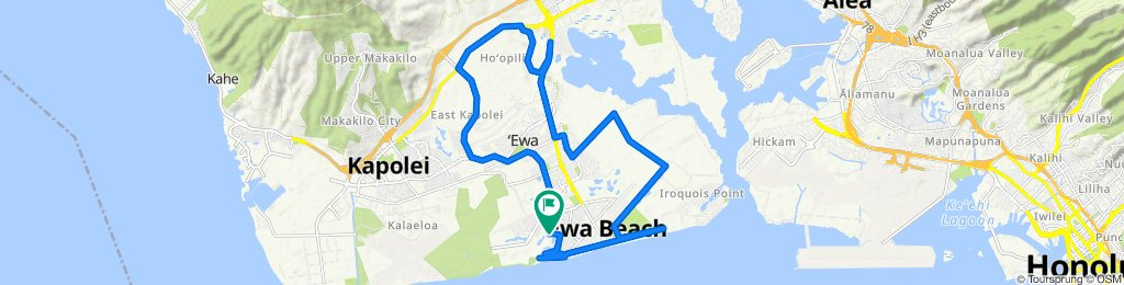 Moderate route in Ewa Beach