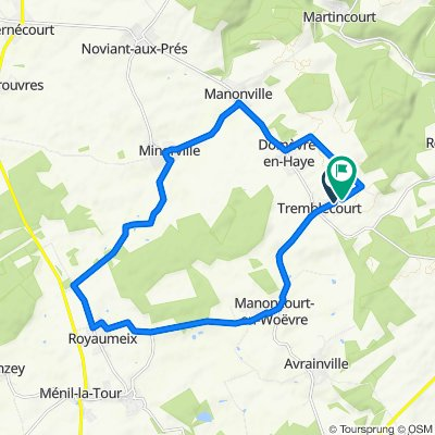 Tremblecourt-Royaumeix-Manonville