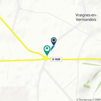 D15, Vraignes-en-Vermandois to D15, Vraignes-en-Vermandois