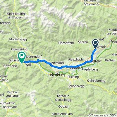Adelsberg 5, Kobenz nach Sankt Georgen ob Judenburg 9, St. Georgen ob Judenburg