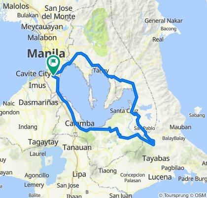Laguna Loop (Kamay ni Hesus Side Trip)