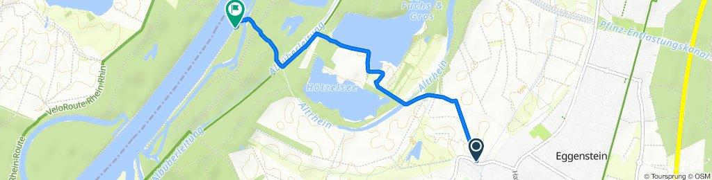 Fisperweg 2, Eggenstein-Leopoldshafen nach Unnamed Road, Eggenstein-Leopoldshafen