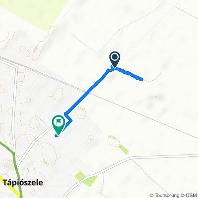 Route to Alkotás út 8., Tápiószele