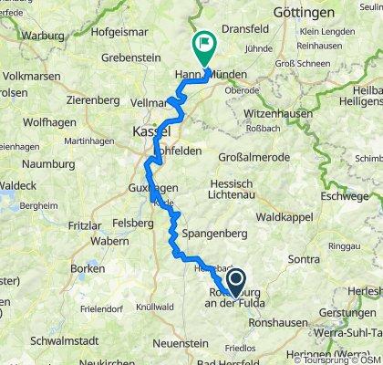 Von Rotenburg an der Fulda nach Hann.Münden