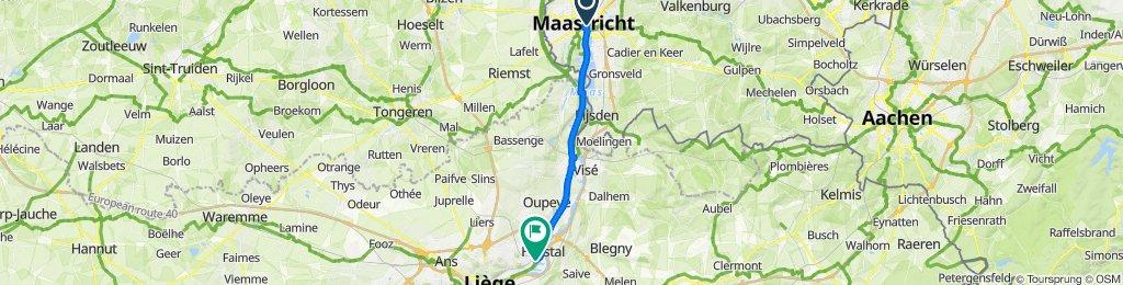 De Oeverwal 13, Maastricht à Petite Voie 33, Herstal