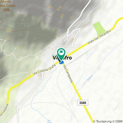 Da Via Colonia Giulia 124, Venafro a Corso Campano 164D, Venafro