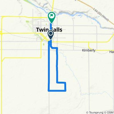 18 mile route
