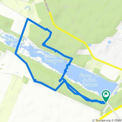 Restful route in Le Perray-en-Yvelines