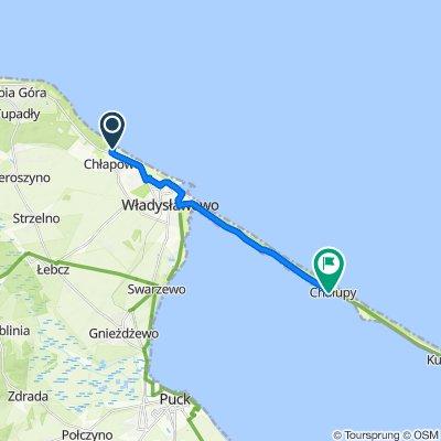Trasa do Sztormowa 4–6, Chałupy