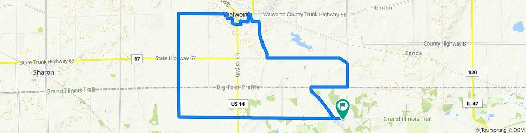 Loop to Walworth