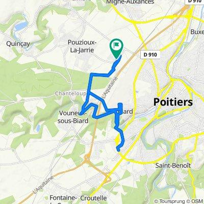De 34 Rue Calmette et Guérin, Vouneuil-sous-Biard à 18 Rue Calmette et Guérin, Vouneuil-sous-Biard