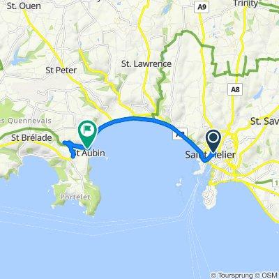 Easy ride in Saint Helier