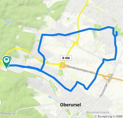 Waldlust, Oberursel (Taunus) to An der Waldlust 3, Oberursel (Taunus)