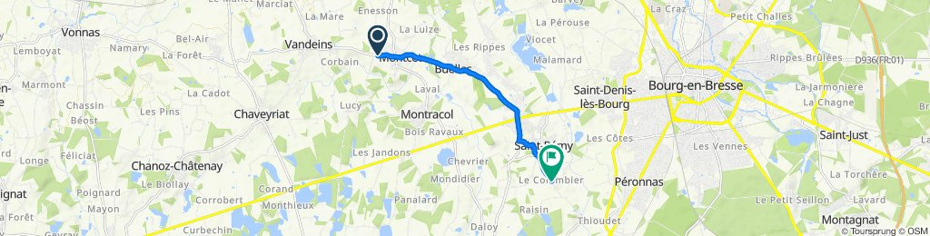 De 19–69 Chemin des Crenets, Montcet à 804 Chemin du Colombier, Saint-Rémy