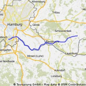 HH-Eißendorf - Büchen-Pötrau