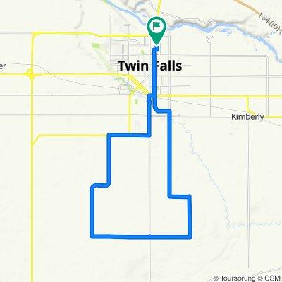 28 mile route