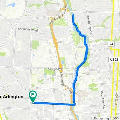 1484 King Ave, Columbus to 1484 King Ave, Columbus