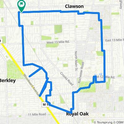 Royal Oak - Short Ride