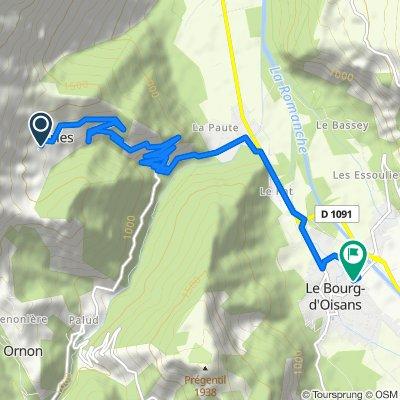 D Oulles naar LBdO 10km/700hm omlaag